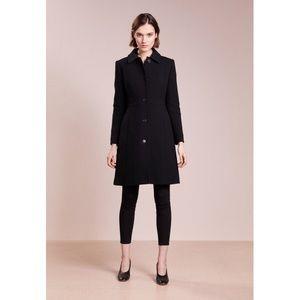 J. Crew lady day coat . Black